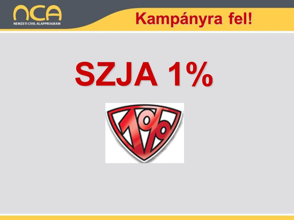 Kampányra fel! SZJA 1%