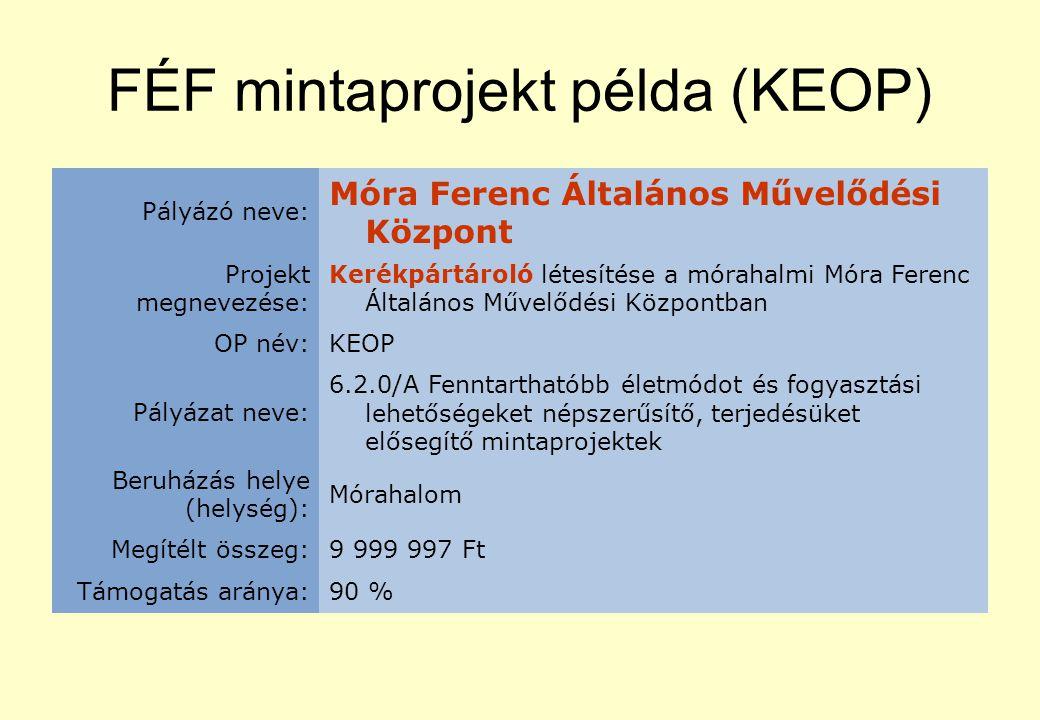 Kampány példa (KEOP) Pályázó neve: Deák Ferenc Általános Iskola és Alapfokú Művészetoktatási Intézmény Projekt megnevezése: Egészséges környezetben - egészséges ember.