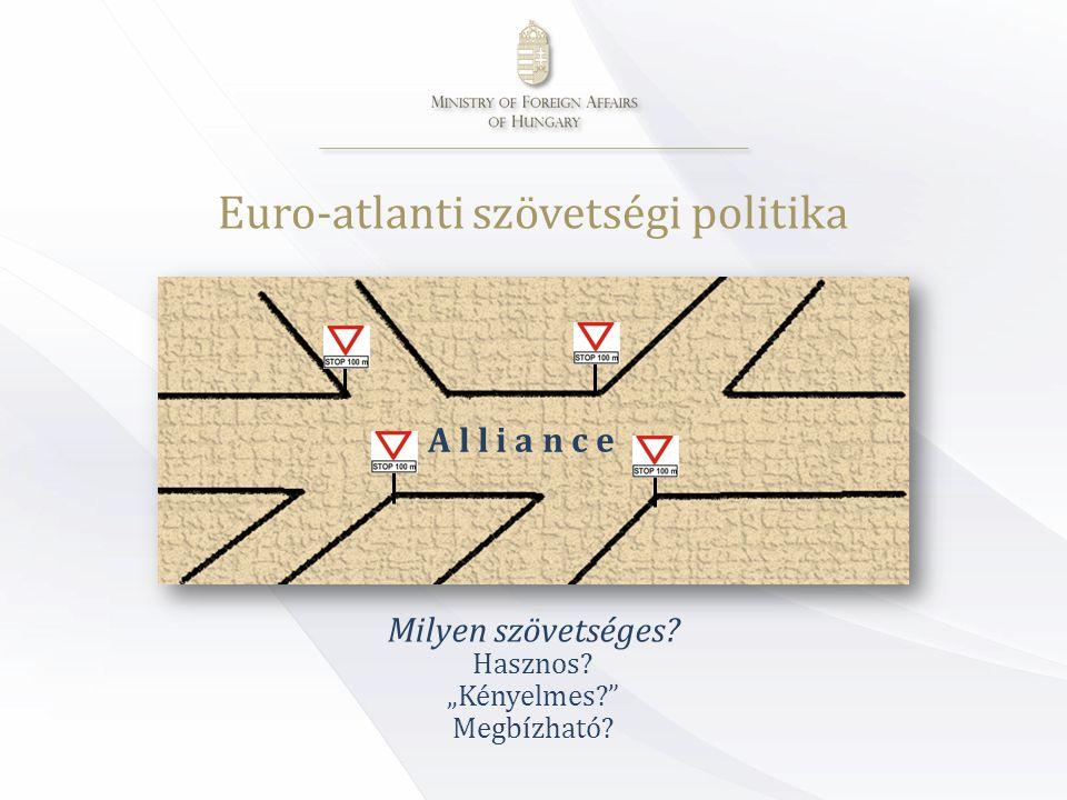 Euro-atlanti szövetségi politika Milyen szövetséges.