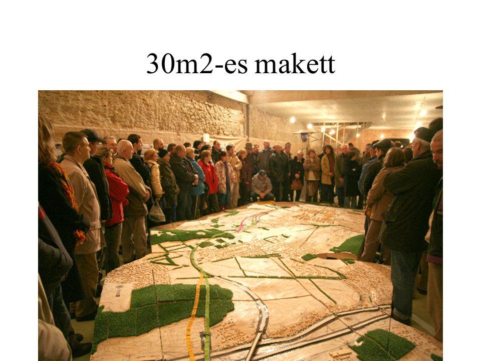 30m2-es makett