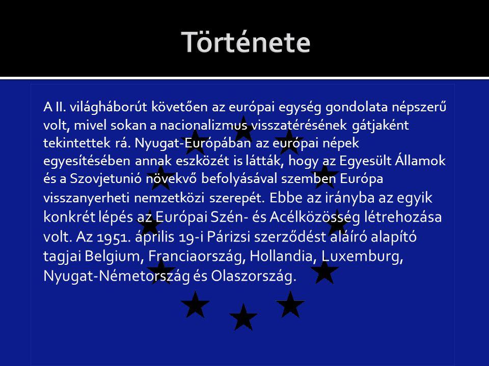 A II. világháborút követően az európai egység gondolata népszerű volt, mivel sokan a nacionalizmus visszatérésének gátjaként tekintettek rá. Nyugat-Eu