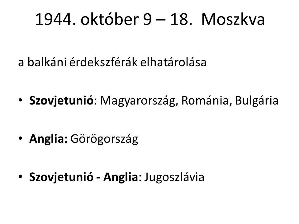 1944.október 9 – 18.