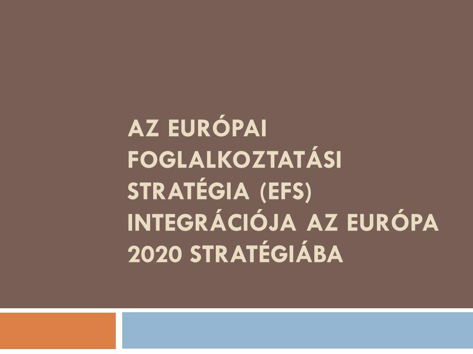 AZ EURÓPAI FOGLALKOZTATÁSI STRATÉGIA (EFS) INTEGRÁCIÓJA AZ EURÓPA 2020 STRATÉGIÁBA