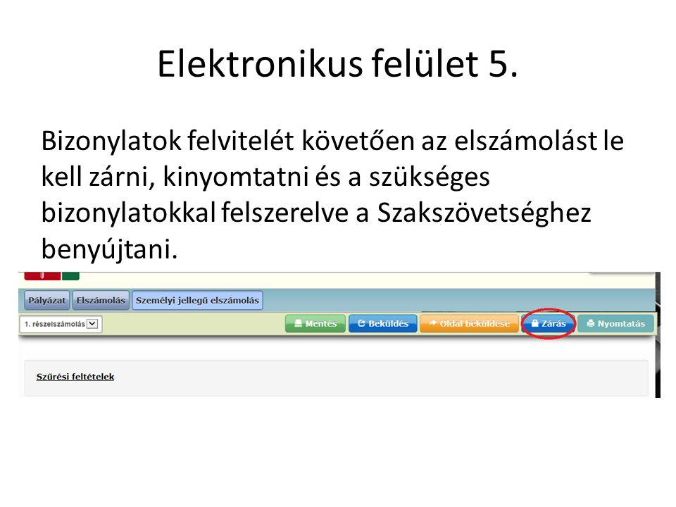 Elektronikus felület 5.