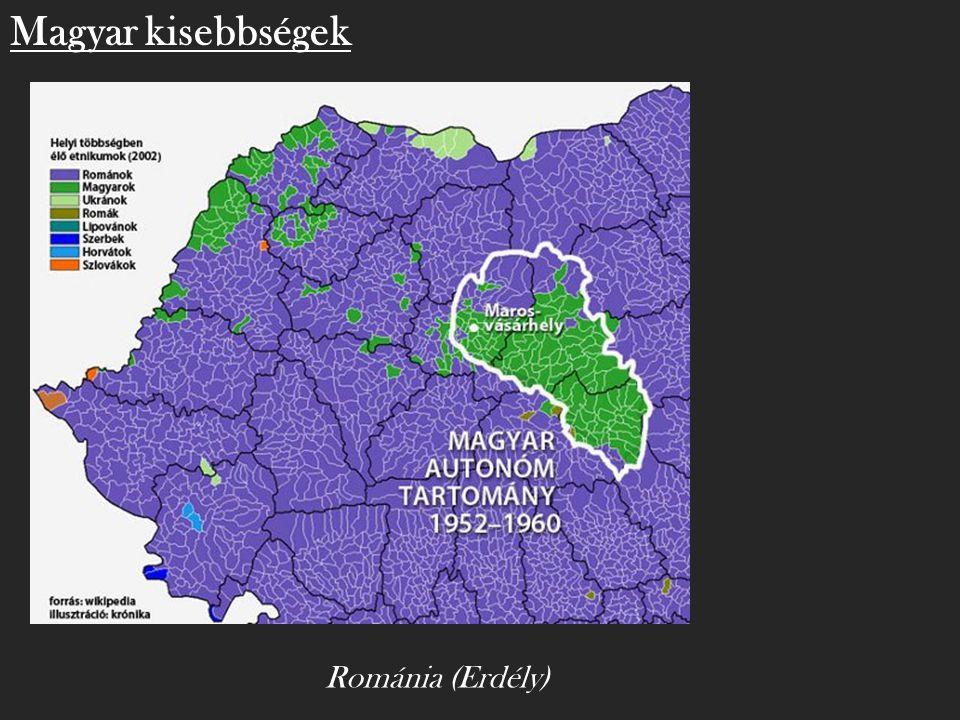 Magyar kisebbségek Románia (Erdély)
