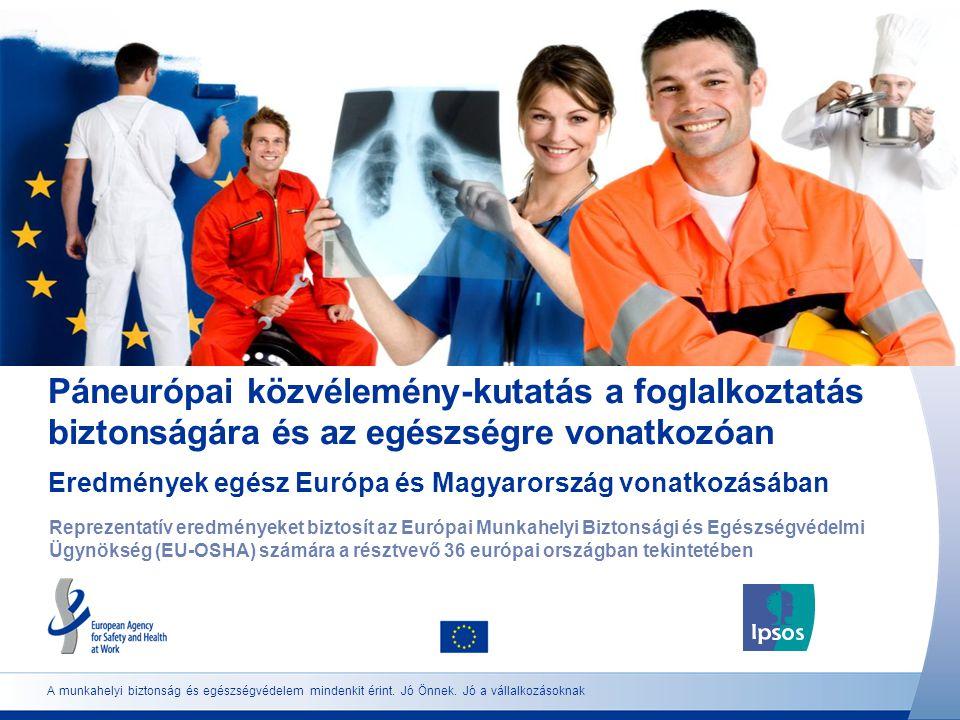 A munkahelyi biztonság és egészségvédelem mindenkit érint.