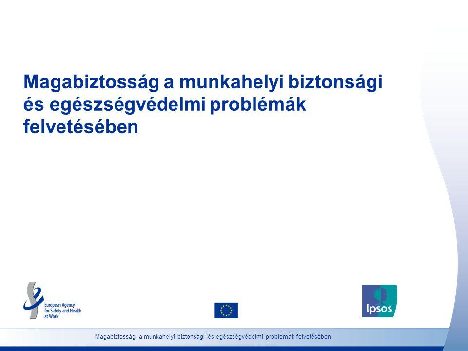 Magabiztosság a munkahelyi biztonsági és egészségvédelmi problémák felvetésében