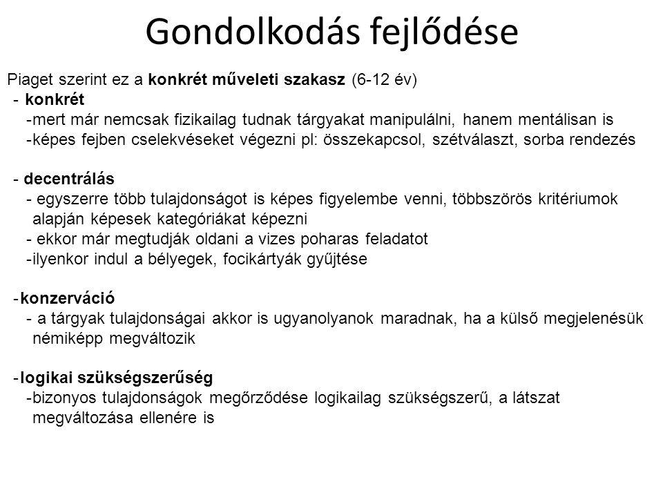 Selman: nézőpontátvétel és a barátság szintjei 4.