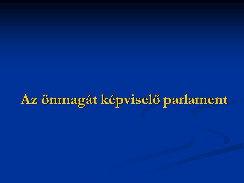 Az önmagát képviselő parlament