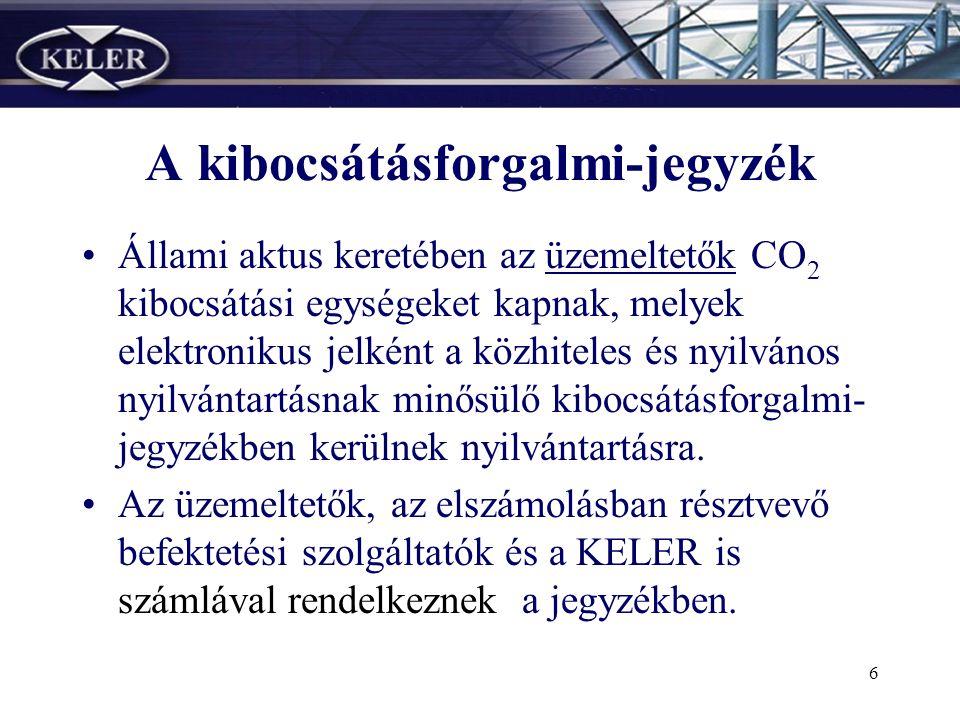 5 •Magyarországon a KELER látja el a központi értéktári faladatokat, és végzi az értékpapírok számlákon történő központi nyilvántartást.