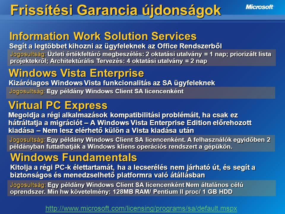 Virtual PC Express Megoldja a régi alkalmazások kompatibilitási problémáit, ha csak ez hátráltatja a migrációt – A Windows Vista Enterprise Edition el