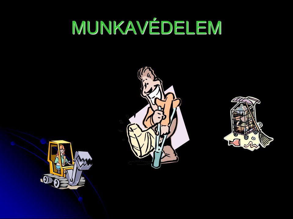 MUNKAVÉDELEM
