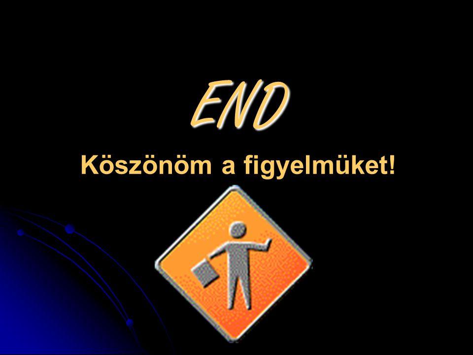 END END Köszönöm a figyelmüket!