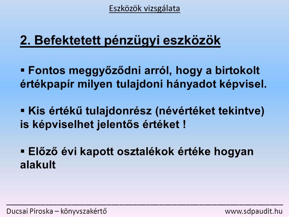 _______________________________________________________________ Ducsai Piroska – könyvszakértő www.sdpaudit.hu 2.