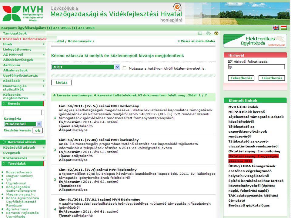 Kifizetési Közlemények 49/2011.(III.