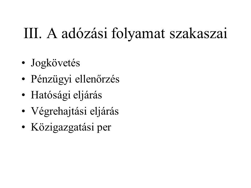 IV.Az adózó •3.