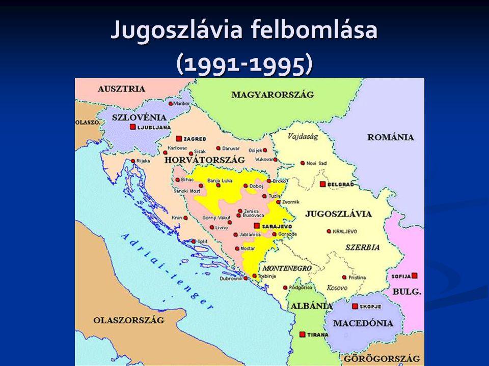 Jugoszlávia felbomlása (1991-1995)
