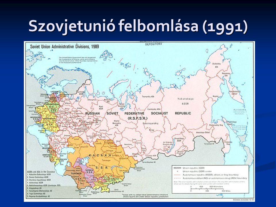 Szovjetunió felbomlása (1991)