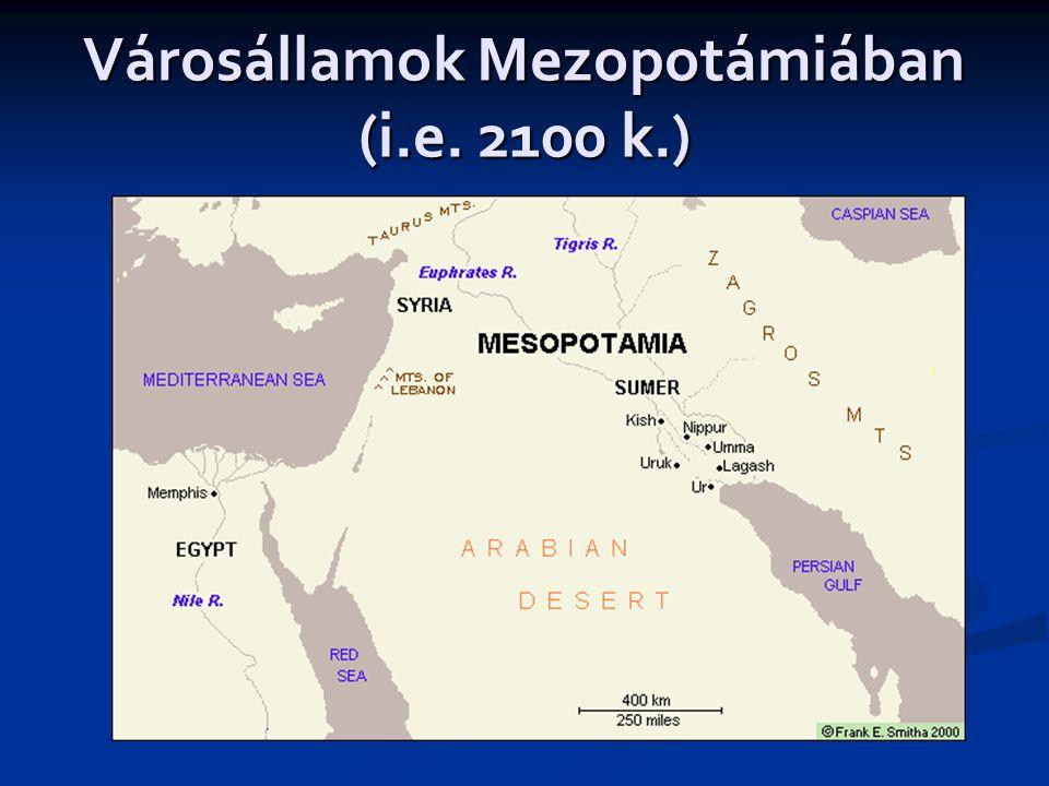 Városállamok Mezopotámiában (i.e. 2100 k.)