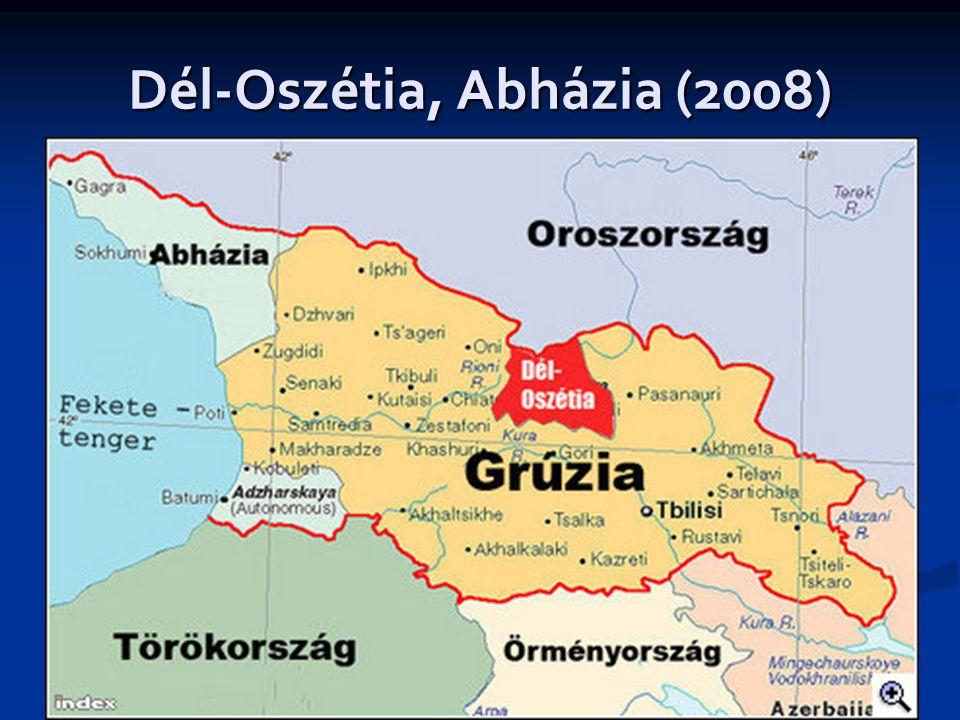 Dél-Oszétia, Abházia (2008)