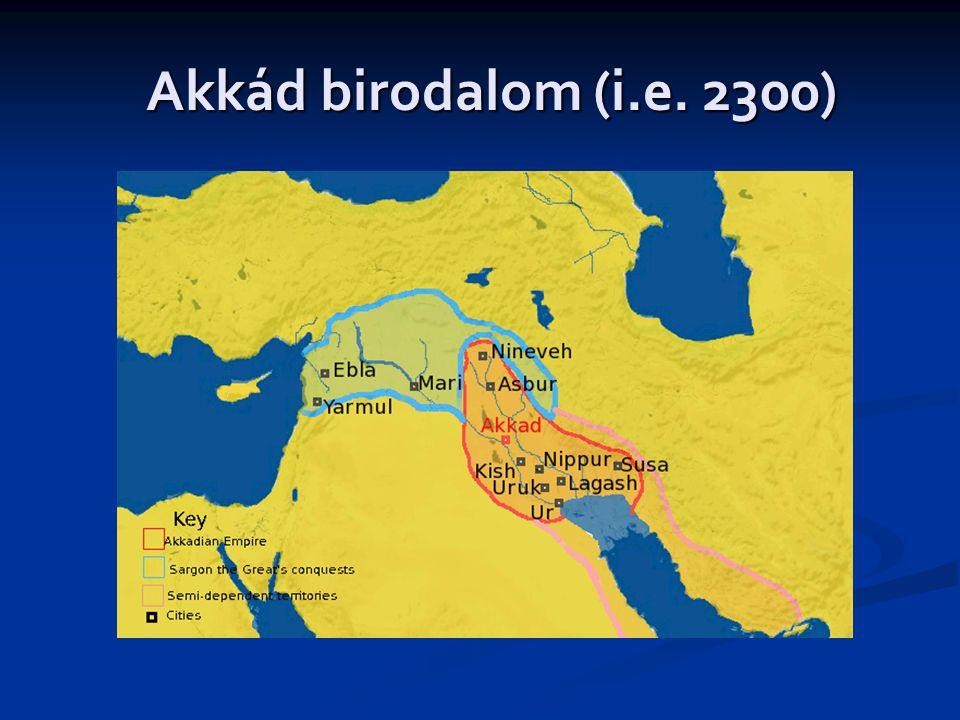 Akkád birodalom (i.e. 2300)