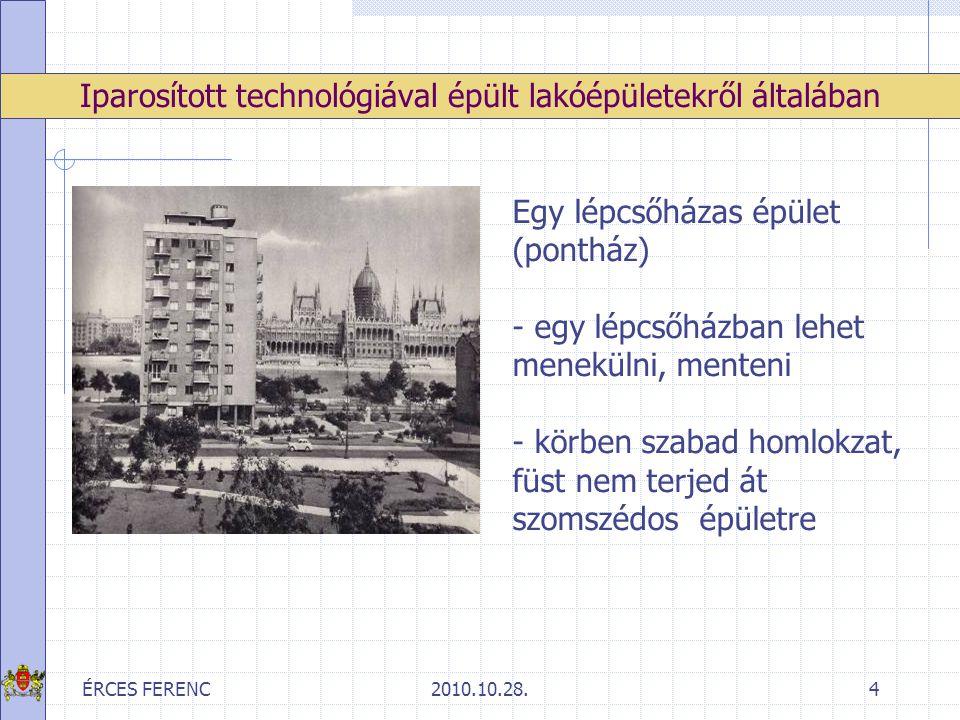 """ÉRCES FERENC2010.10.28.45 értékelés A lakások kis alapterületéből adódó helyhiányt sokan a közös közlekedő területek rácsszerkezettel, fallal való lezárásával, majd az így kialakított tér """"belakásával próbálják orvosolni."""