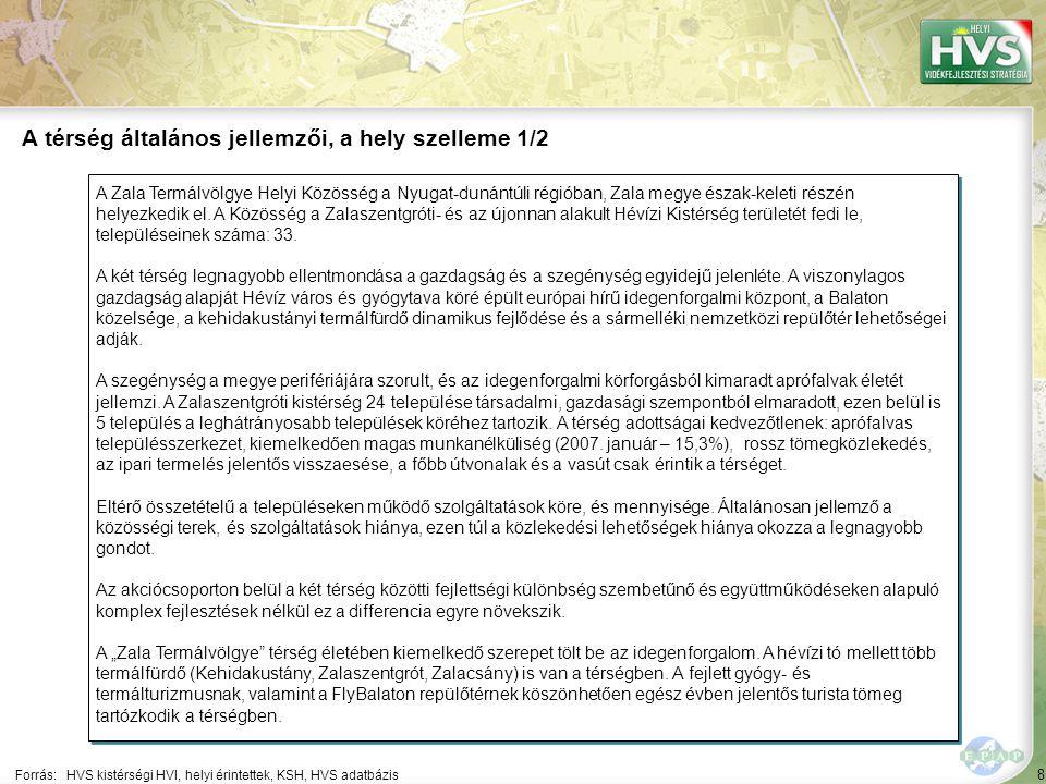 """49 Települések egy mondatos jellemzése 5/17 A települések legfontosabb problémájának és lehetőségének egy mondatos jellemzése támpontot ad a legfontosabb fejlesztések meghatározásához Forrás:HVS kistérségi HVI, helyi érintettek, HVT adatbázis TelepülésLegfontosabb probléma a településen ▪Kallósd ▪""""A település kiemelkedő épített örökséggel és ahhoz kötődő, kulturális és természeti kínálattal rendelkezik, amiből a település nem tud megfelelően profitálni. ▪Kehidakustán y ▪""""A helyi munkaerő, vállalkozói réteg tudása nem piacképes (nyelvismeret, marketing ismeretek stb.). Legfontosabb lehetőség a településen ▪""""A meglévő adottságokra épülő turisztikai fejlesztések, beruházások. ▪""""A helyi munkaerő ill."""