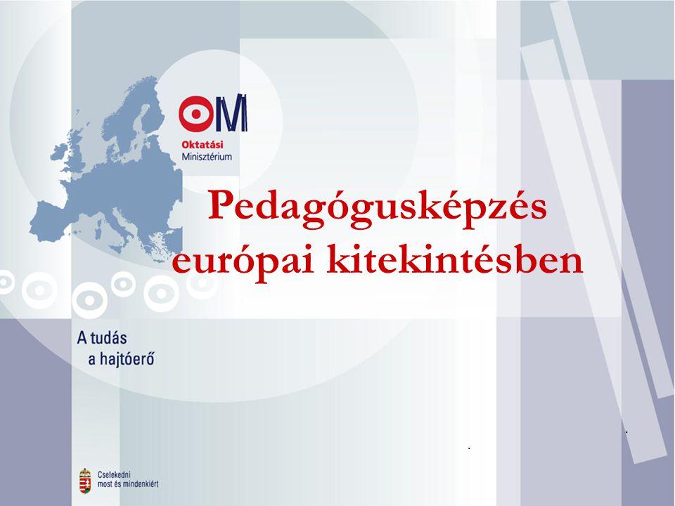 Felvételi 2003 Pedagógusképzés európai kitekintésben...