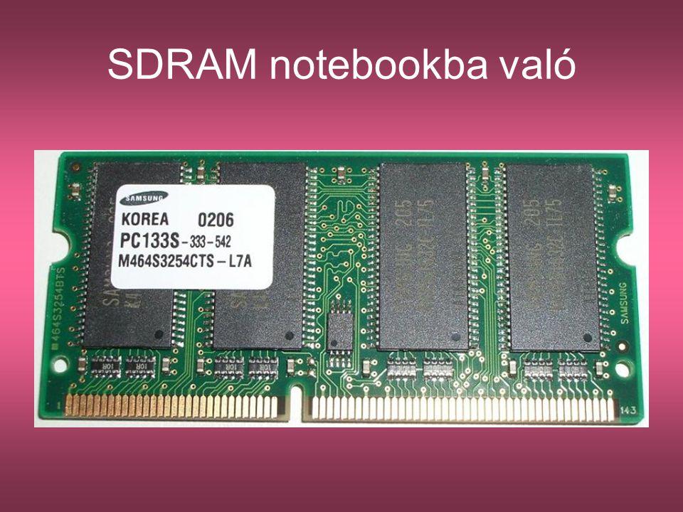 SDRAM notebookba való