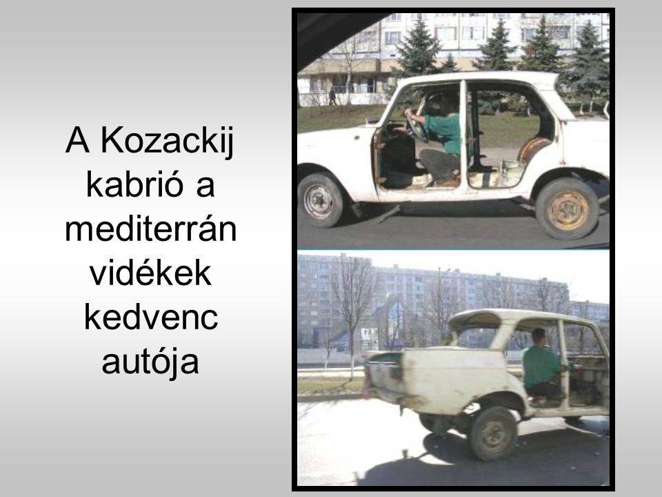 Garázsproblémák megoldására lett kifejlesztve a Nugát-11 parkolóautó