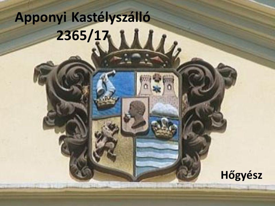 Apponyi Kastélyszálló 2365/17 Hőgyész