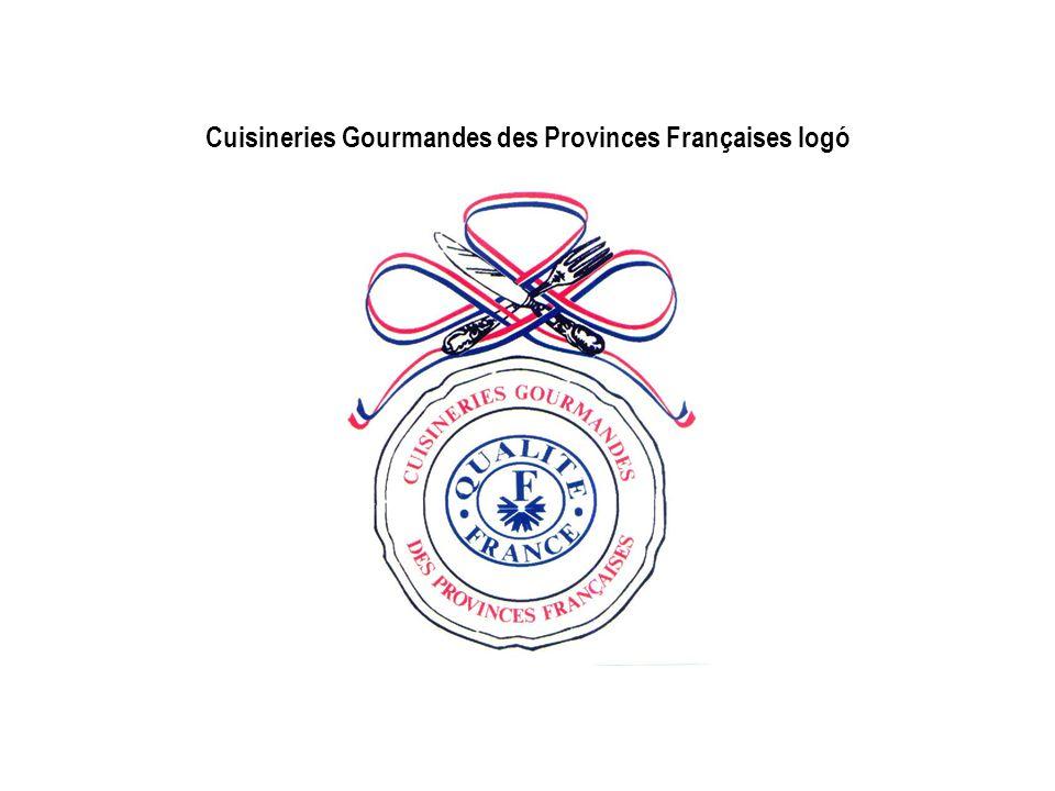 Cuisineries Gourmandes des Provinces Françaises logó