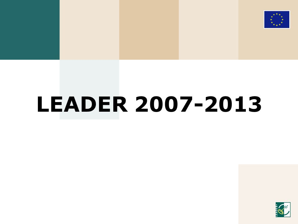 LEADER 2007-2013