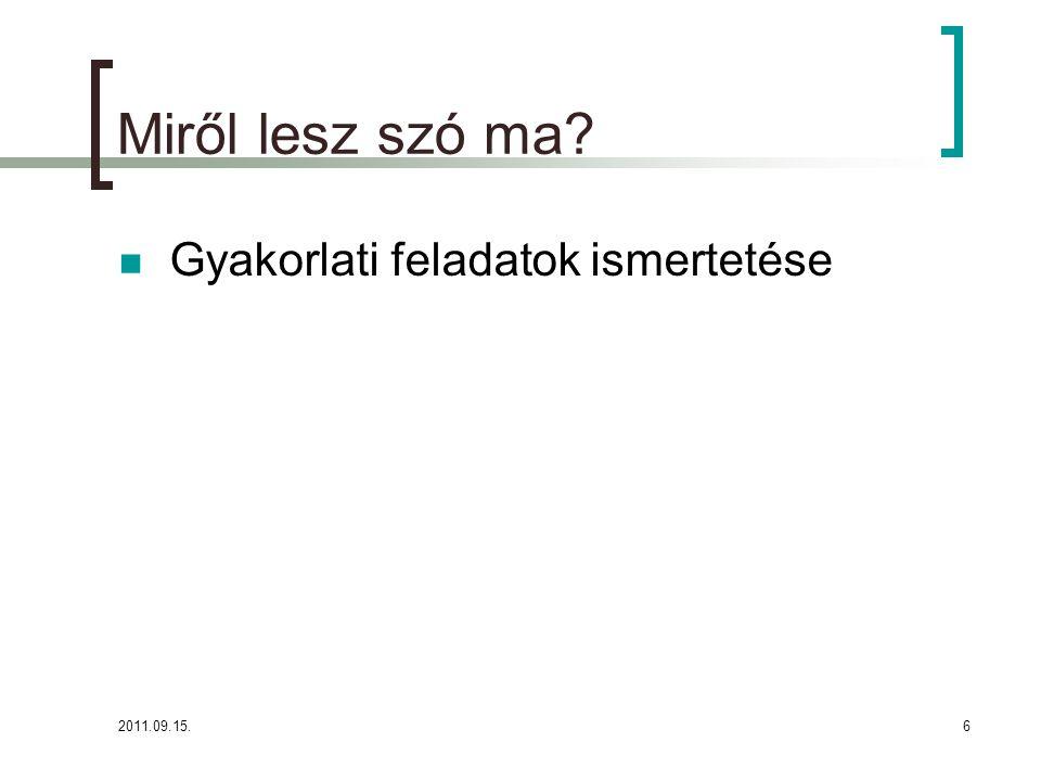 2011.09.15.27 MSZ EN ISO 9001: 2009 ('01)  6.