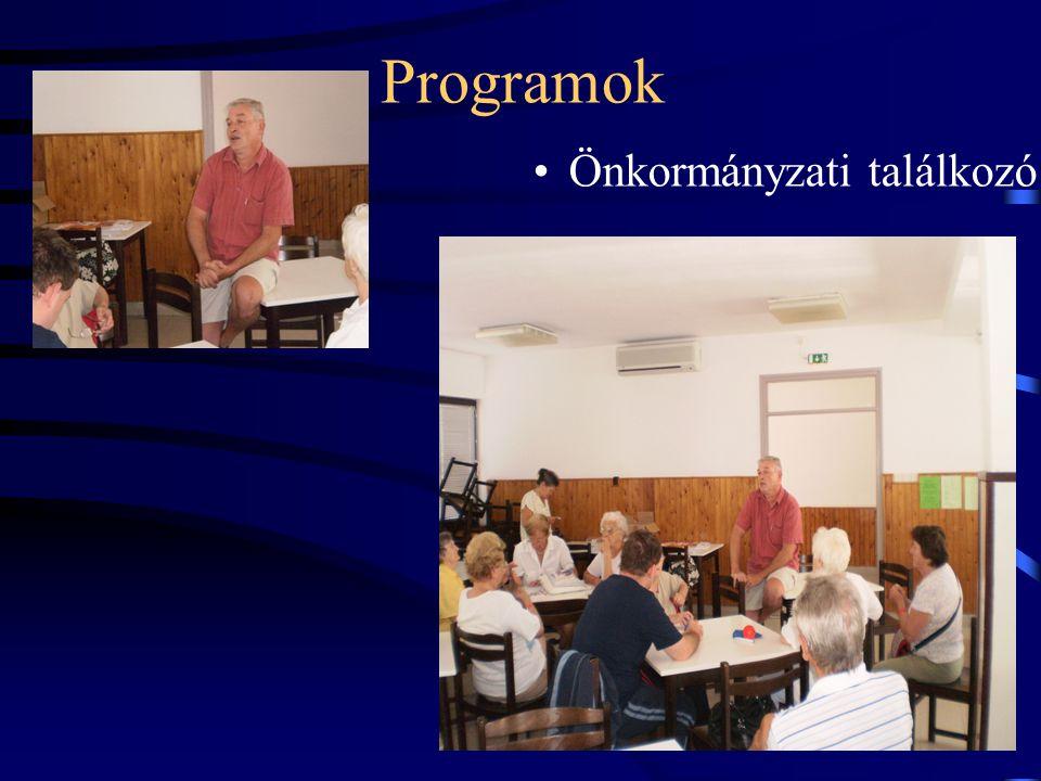 Programok •Önkormányzati találkozó
