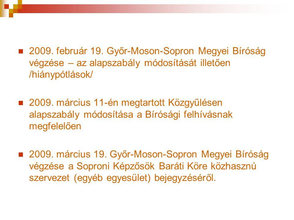 Kari események, amelyeken részt vettünk  2009.október 3.