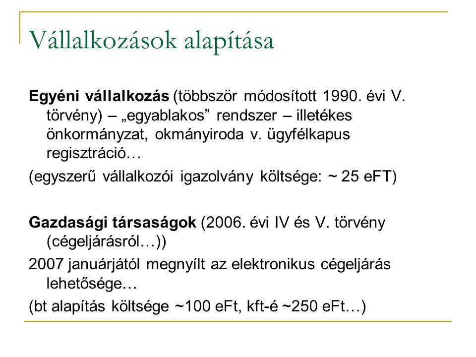 A magyar vállalkozási szféra jellemzői (1990 után): • privatizált állami vállalatok • átalakult vagy megszűnt szövetkezetek • állami tulajdonú vállalatok teljesítmény- és munkavállalói létszám csökkenéssel • beáramló külföldi tőke • nagyszámú, erősödő (?) magánvállalkozás • nagy szervezetek decentralizálása, dezintegrálódása (small is beauty…) • megmaradtak belső rendszerének átalakulása, divíziók és profitcenterek létrejötte…