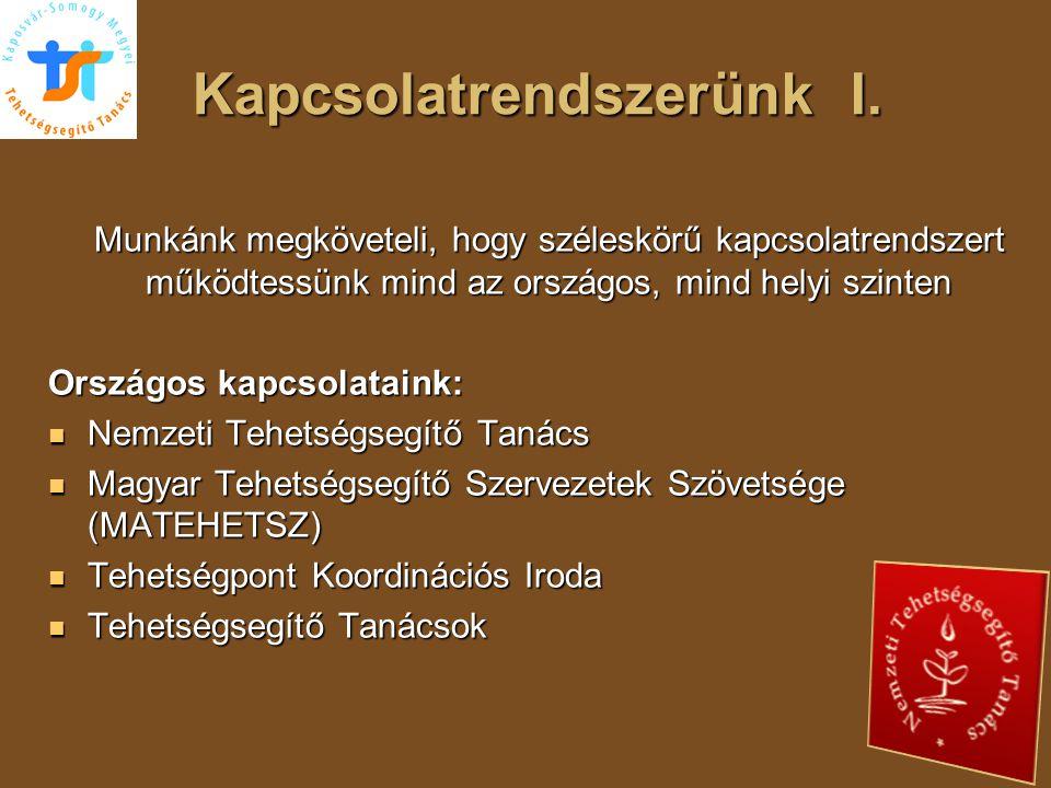 Adaptáció feltételei  Elkötelezett szakemberek (titkár, alelnök, elnök)  Minimális infrastruktúra az ügyvitelhez (pl.