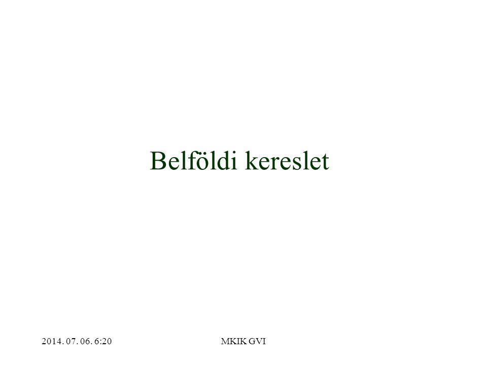 2014. 07. 06. 6:22MKIK GVI Belföldi kereslet