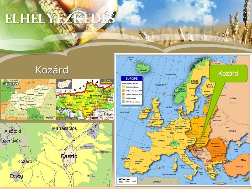 JELENLEGI PROJEKTEK 2011-2012-213 Magyar-Szlovák Határon Átnyúló Együttműködés •Palóc Galéria HUSK 2008/01/1.3.1 /0071 A kozárdi Palóc Galéria és Kézművesház kialakítására Kozárd as PP Budget: 108 730 EUR - 95% • Négy Kapu integrált turizmusfejlesztés (Palóc Ízek Háza komponens) HUSK 1101/1.3.1/0072 Turisztikai fejlesztések és együttműködések a magyar-szlovák határtérségben Kozárdért Alapítvány as PP Budget: 226 089 EUR – 95%