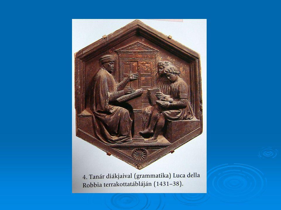  Kivételek természetesen voltak. Vittorino da Feltre (eredetileg: Ramboldini, 1378-1446).