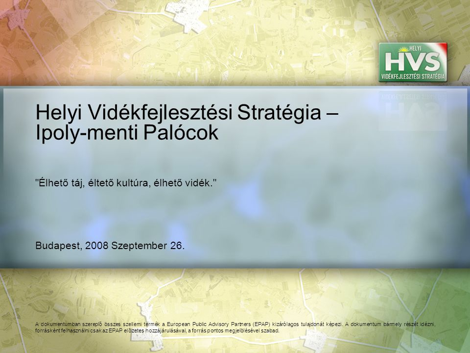 191 Forrás:HVS kistérségi HVI, helyi érintettek, HVS adatbázis A legtöbb megoldási javaslat a(z) ÚMVP - 4.