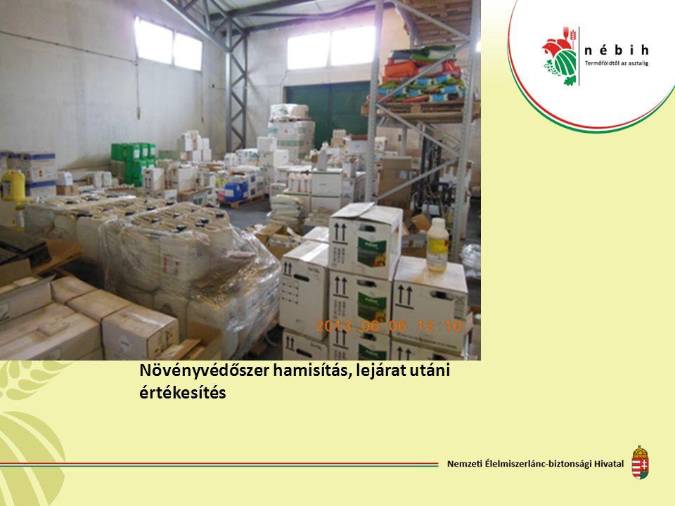 Növényvédőszer hamisítás, lejárat utáni értékesítés