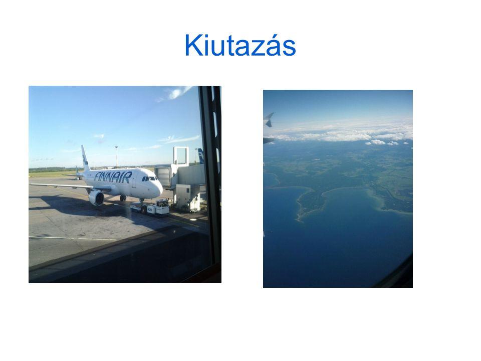 Repülővel Budapest-Helsinki Helsinki-Oulu