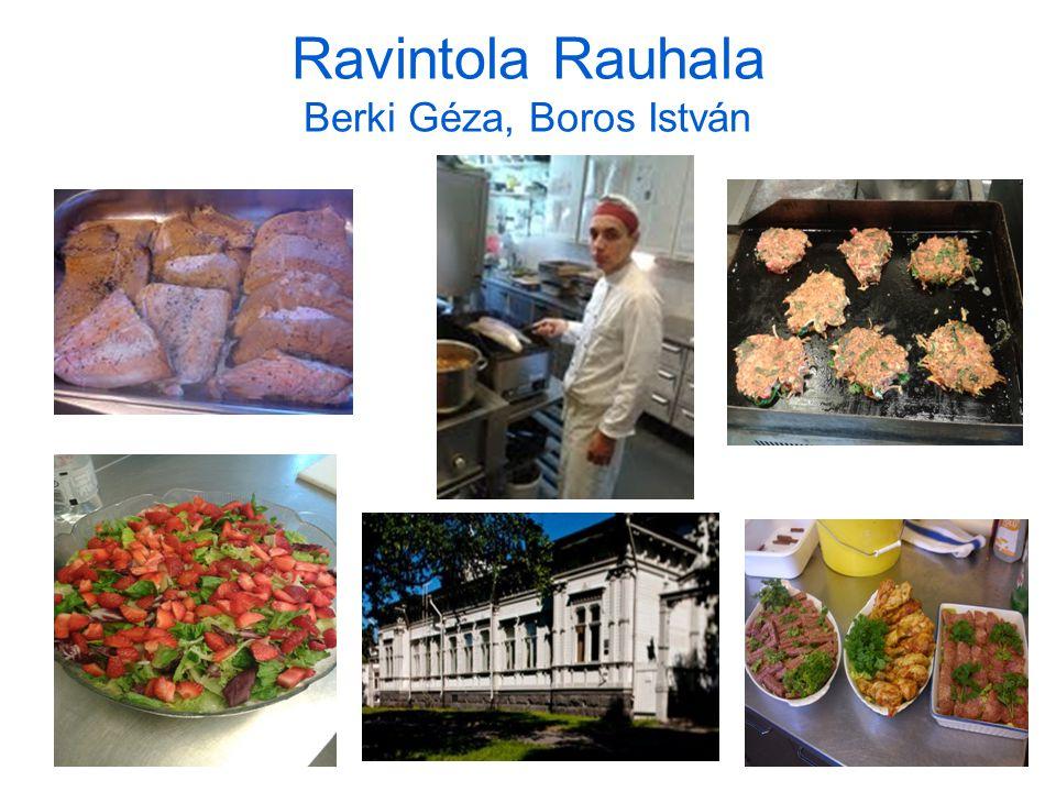 Ravintola Rauhala Berki Géza, Boros István