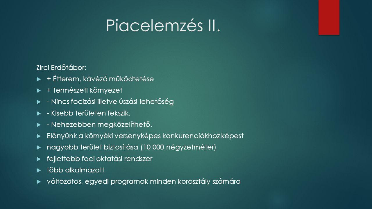 Piacelemzés II.