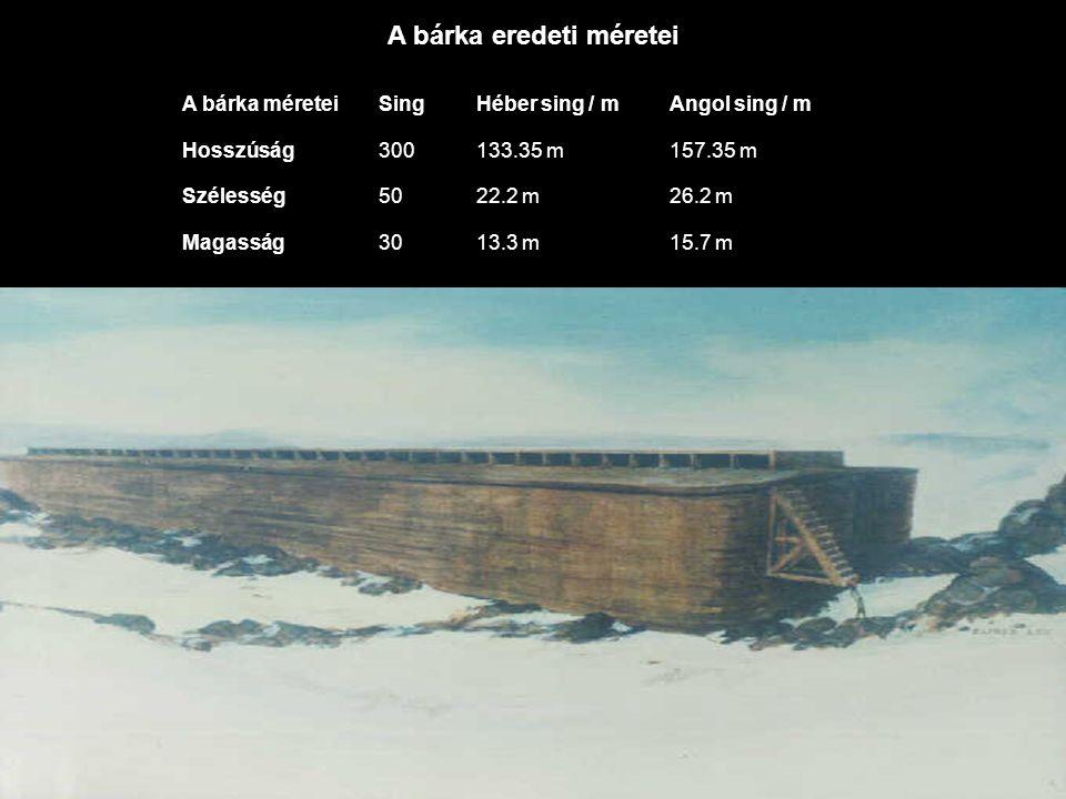 A hollandiai Schagen-ben is építettek egy bárkát, de méretében ez csak egyötöde az eredetinek.
