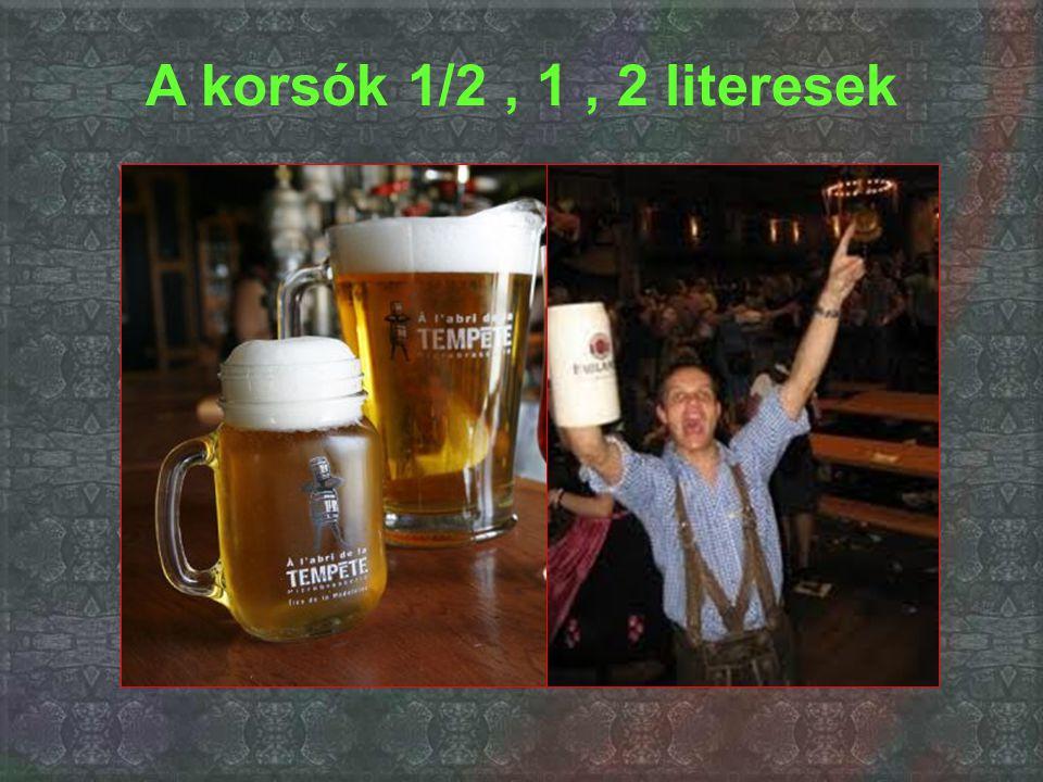 Afelszolgált sör...