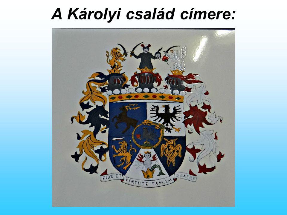 A Károlyi család címere: