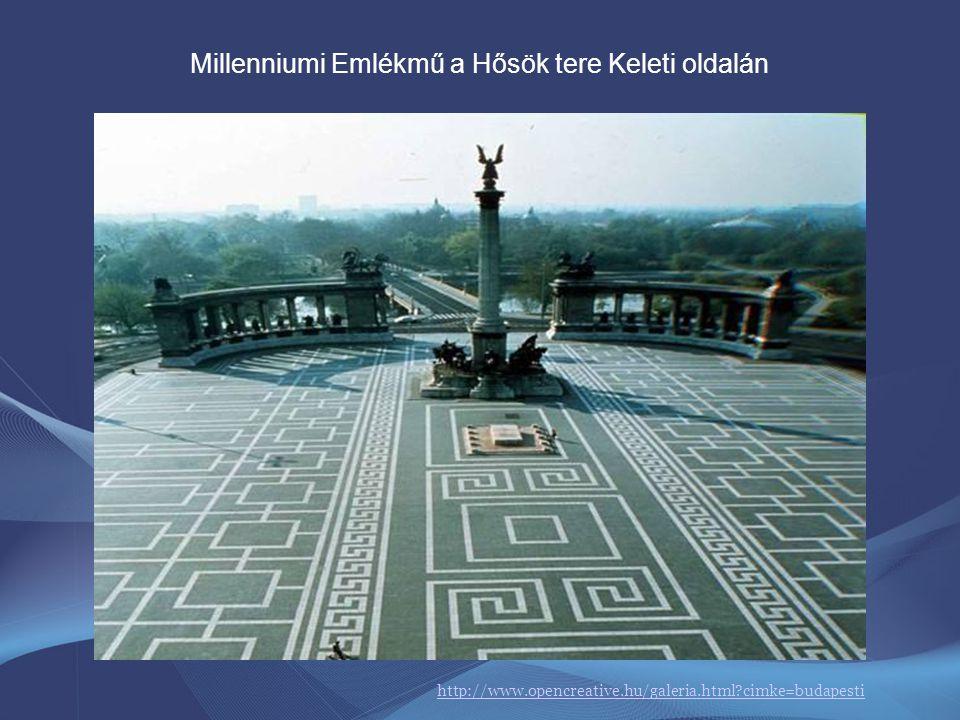 Az Országgyűlés 1884-ben úgy döntött, hogy a honfoglalás ezredik évfordulójára mintegy az Andrássy út lezárásaként készüljön el egy reprezentatív emlé